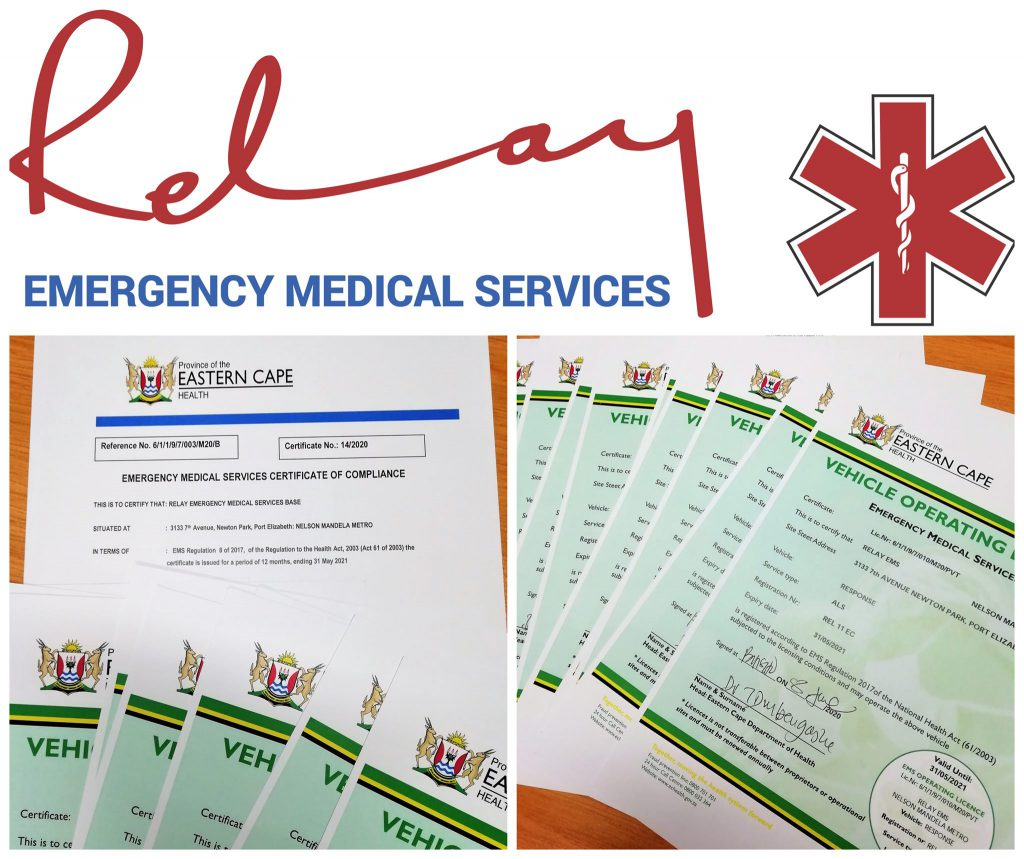 EMS Certificate of Compliance